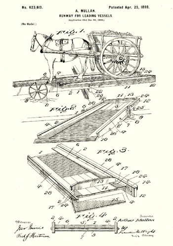 1899 Patent for runway