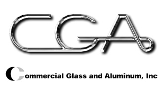 Commercial Glass and Aluminum, Pittsburg, CA branding