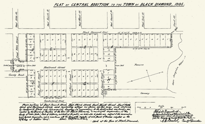 Contributions to the history of Pittsburg, California, such as this 1905 Map of Downtown