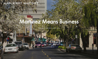 Image from the Martinez Means Business website.