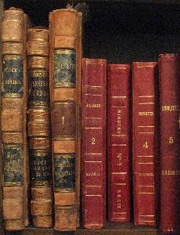 Old books in archves of Southport Land