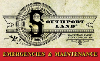 Emergency contacts for Southport Land and Commercial Company.