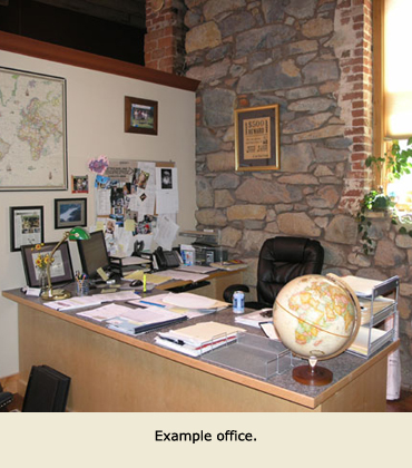 Office Leasing example, Grass Valley, CA.