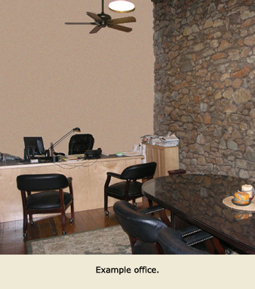 Office Rental example, Grass Valley, CA.