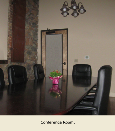 Conference Room for use of tenants of leased space in the Alpha Building, Grass Valley, CA.