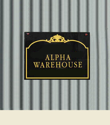 Storage space for rent in the Alpha Warehouse, Grass Valley, CA.