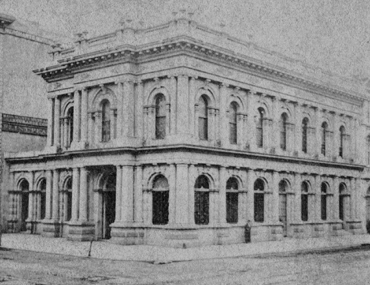 Bank of California Building, San Francisco, circa 1875
