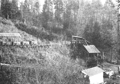 Southport Mine, Oregon, Circa 1940